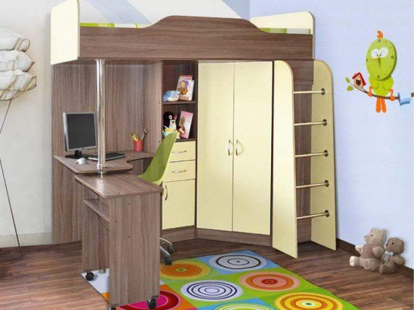 Детская кровать Бриз-1