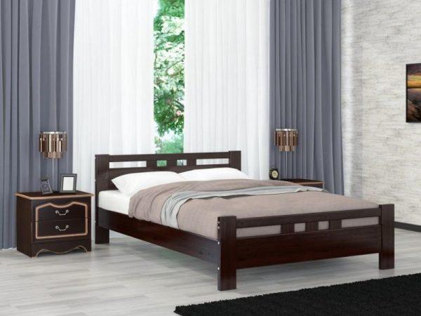 Кровать «Вероника-2» орех